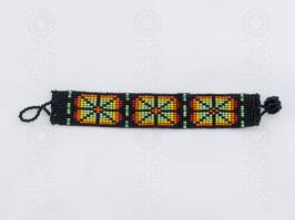 Chaquira-Armband KREUZE