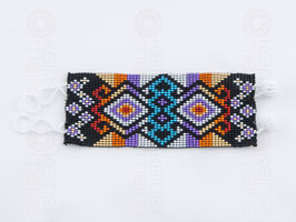 Chaquira-Armband ORNAMENT