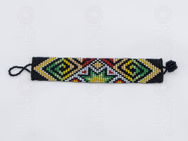 Chaquira-Armband STERN
