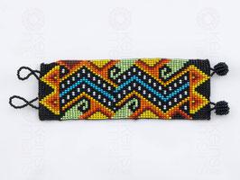 Chaquira-Armband LABYRINTH