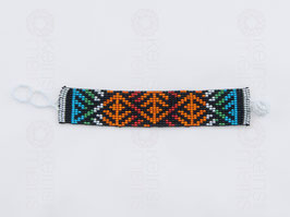 Chaquira-Armband BERGE HELL