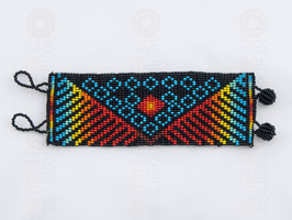 Chaquira-Armband FÄCHER
