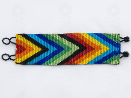 Chaquira-Armband PFEILE