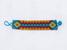 Chaquira-Armband RAUTENKETTE