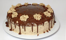 Tarta de Turrón de Chocolate Suchard