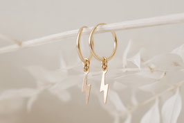 FLASH Hoop Earrings