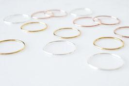 Simple Band Ring - in 3 Farben erhältlich!