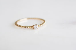 Solitaire Bubble Ring