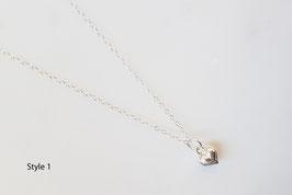 Little Heart Necklace silber