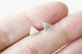 TRIANGLE Stud Earrings SS 925