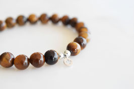 CLOVER Bracelet Tiger's Eye