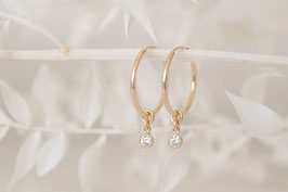ALAYA Hoop Earrings