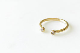 Ball Zircon Ring