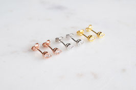 ALENA Drop Stud Earrings