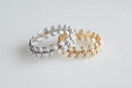 Leaf Zircon Ring in 3 Farben erhältlich!