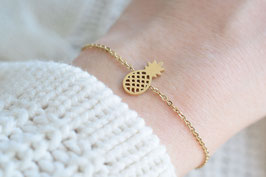 Pineapple Bracelet in gold