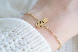 Pineapple Bracelet in gold