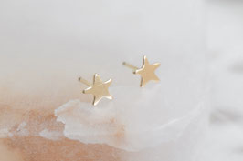 STAR Stud Earrings 14k GF