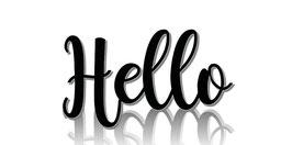 Hello (Postkarte)