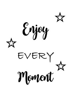 Enjoy every Moment (Postkarte)