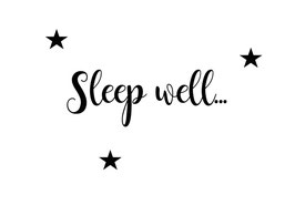 Sleep well (Postkarte)