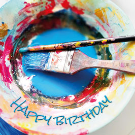 Plate of creativity (Birthday)