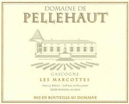 """Domaine Pellehaut """"Les Marcottes"""" - IGP Côtes de Gascogne 2018"""