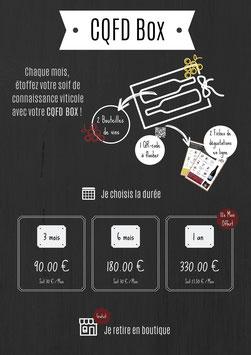 Abonnement CQFD Box - Vins