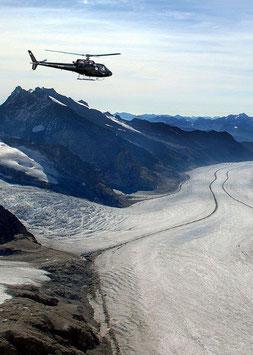 90 Min. Jungfraujoch Rundflug - Route 4