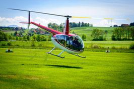 Helikopter selber fliegen Robinson R44