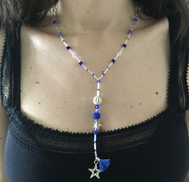 Sautoir Majectic Blue
