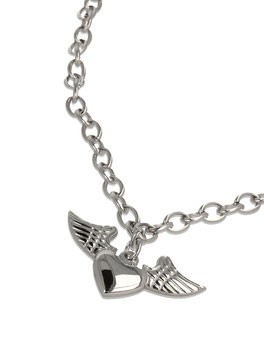 """Collier court """"The Wings of Love"""""""