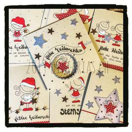 weihnachtskarten handgemalt