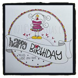 5) happy birthday alles liebe und gute