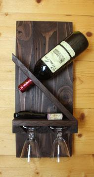 Nouveau: Support pour bouteille de vin & verres de vin!