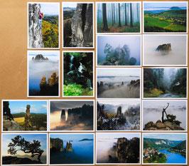 """Set Ansichtskarten """"Sächsische Schweiz"""""""