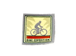 "Ecusson ""Bike expedition"""