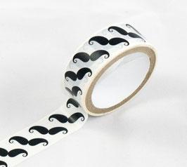 Masking Tape - Moustaches noires