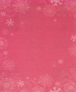 Papier rouge orné de flocons - SPECIAL NOËL