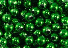 50 Perles de décoration vertes