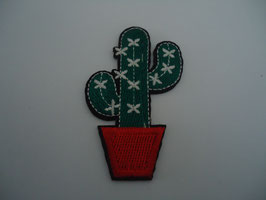 Ecusson thermocollant cactus