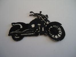 Ecusson thermocollant moto