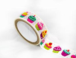 Masking Tape - Cupcake