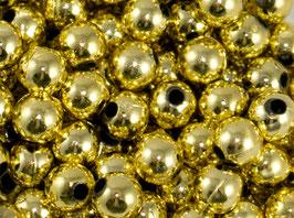50 Perles de décoration dorées