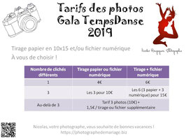 Photos du gala Temps'Danse 2019