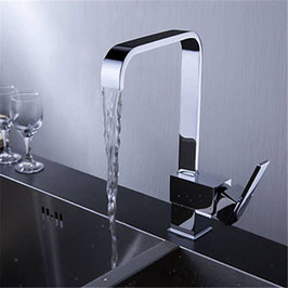 MODELL LILO 360° Schwenkbar Küchenarmatur Spültisch Wasserhahn Einhandmischer Messing Chrom