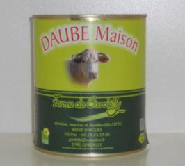DAUBE DE BOEUF - boîte de 800g