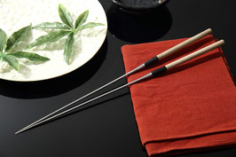 堺孝行盛箸(ステン水牛柄)