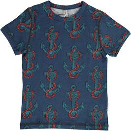 Maxomorra Shirt SS Anchor *Aktion*
