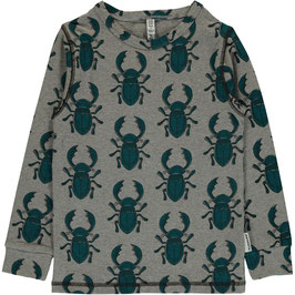 Maxomorra Shirt LS Beetle